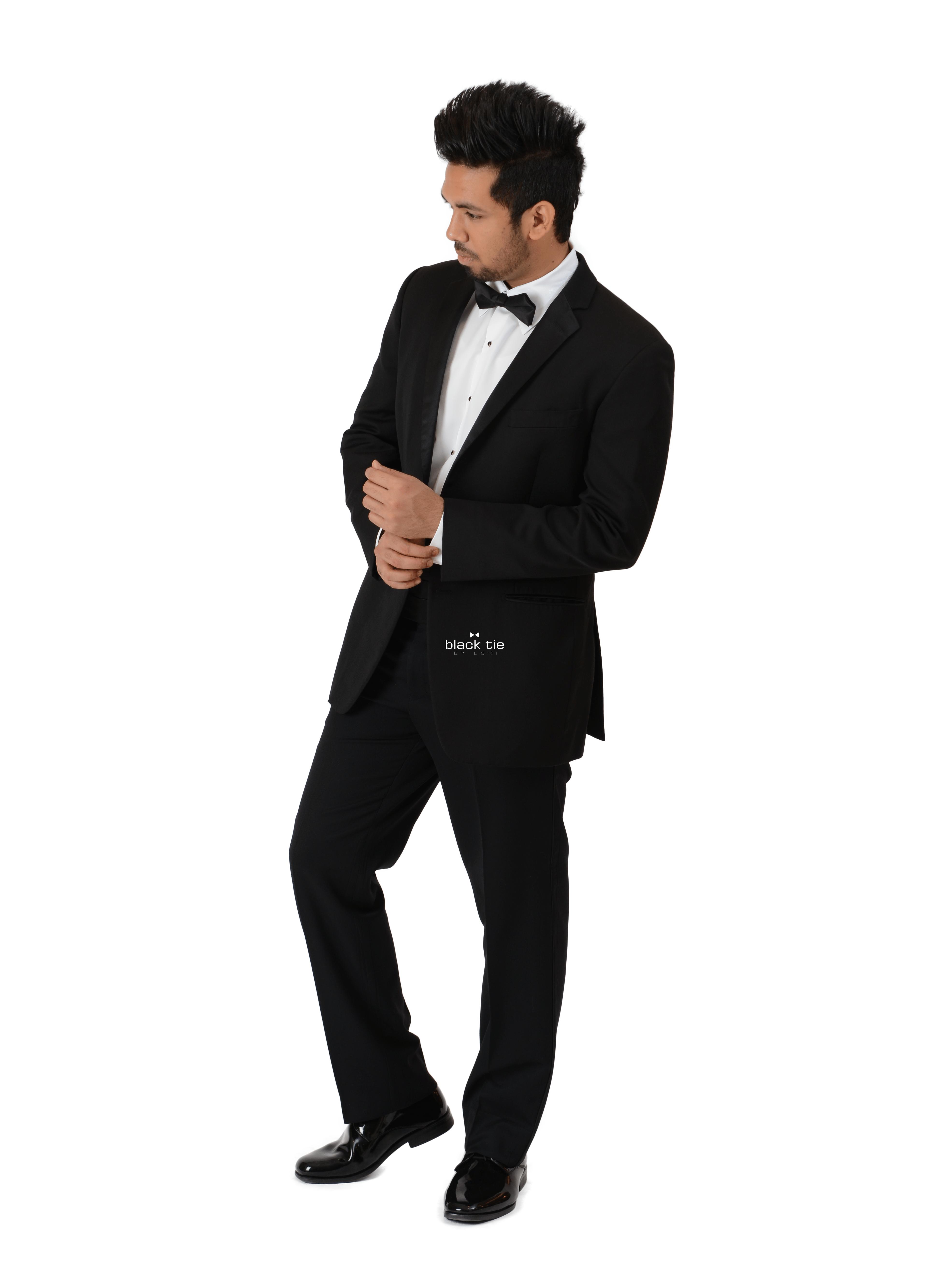 Ike Behar Parker Black Notch Tuxedo